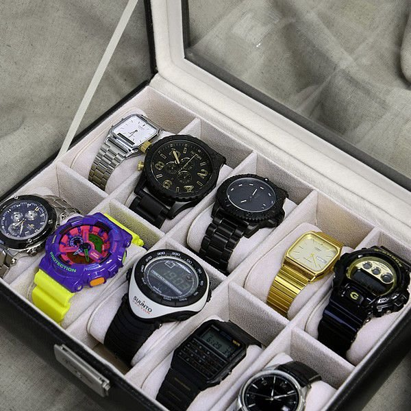 エントリーでP10倍 時計ケース レザーケース 腕時計 ケース