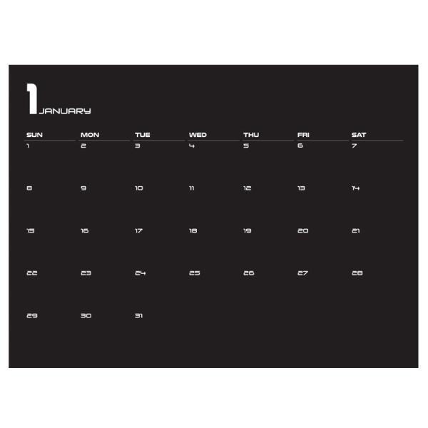 セイスクラッチ 2017 カレンダー レインボー|cameshouse|02