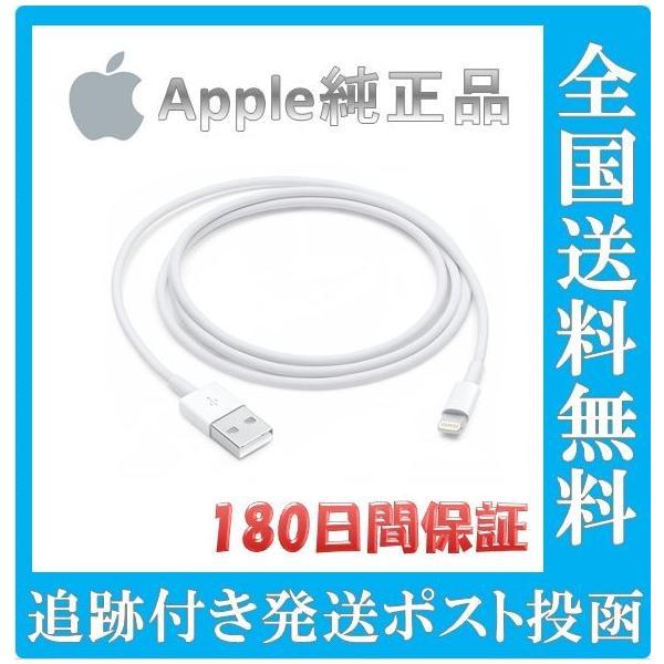 APPLE Lightning-USBケーブル 1.0m MD818AM/Aの画像