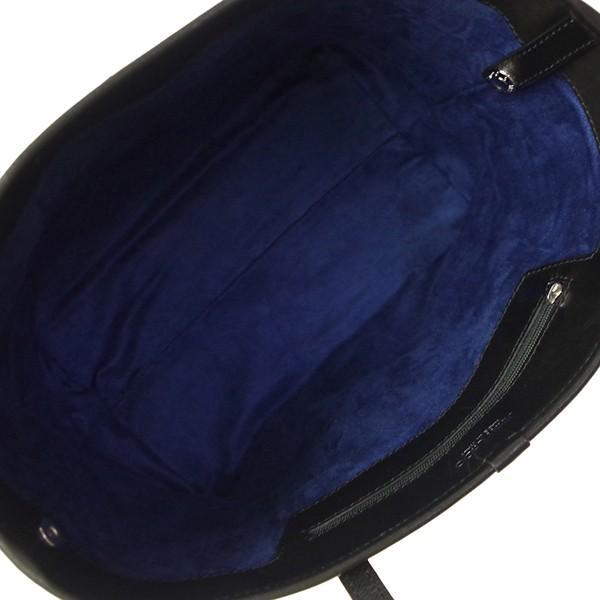 ジミーチュウ 本革 トートバッグ レディース メンズ SASHA S TSU ブラック