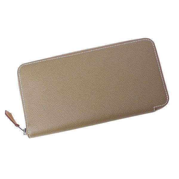 エルメス財布アザップシルクインエトゥープ080203HERMES