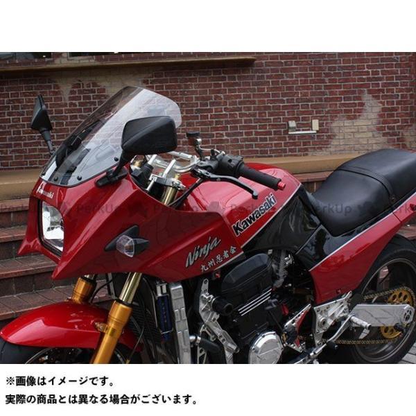 新色追加して再販 アクリポイント ニンジャ900 GPZ900R 1984-2003用スクリーン ストリート ACRY-Point 買物 クリア