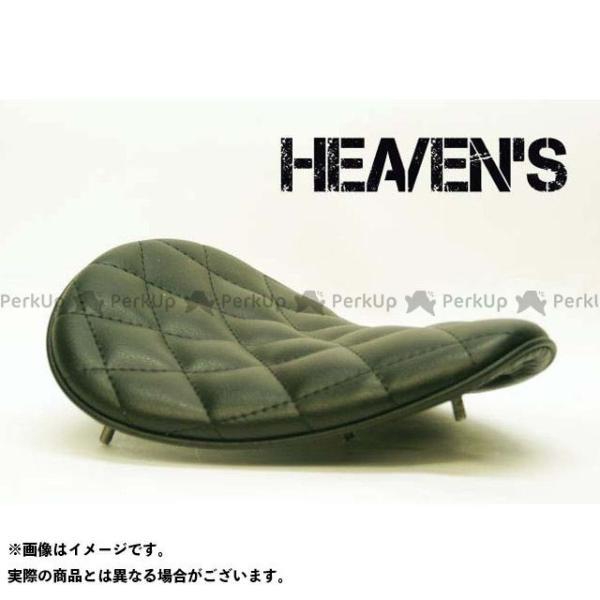 特価品 ヘブンズ 汎用 驚きの値段 ソロシート スーパーフラット カラー:ブラック 購入 HEAVEN'S タイプ:ダイヤ バックサイドタイプ