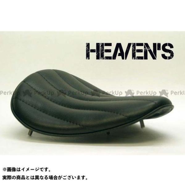 特価品 ヘブンズ 汎用 ソロシート スーパーフラット HEAVEN'S 贈呈 カラー:ブラック 市場 タイプ:バーチカルロール バックサイドタイプ