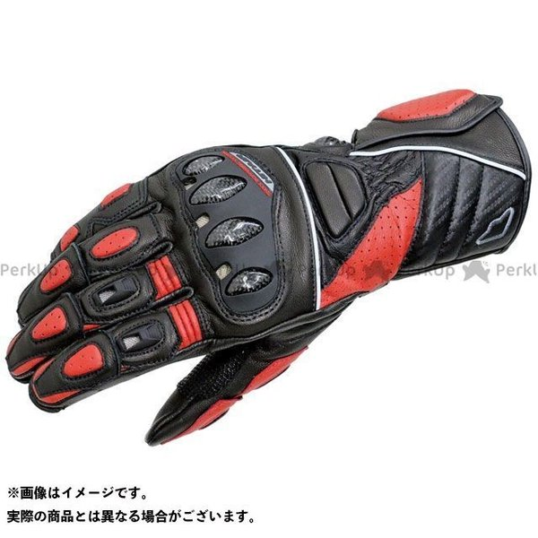 <title>hit air Glove R3 レーシングレザーグローブ カラー:ブラック レッド サイズ:M 商い ヒットエアー</title>