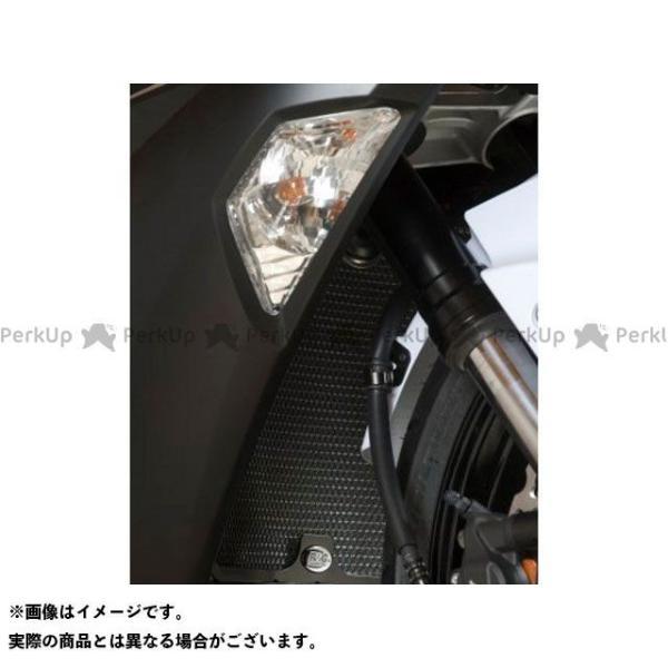 Ramp;G ニンジャZX-6R ラジエターガード カラー:ブラック アールアンドジー 流行 ディスカウント