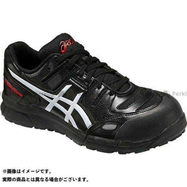 ASICS 安全靴 ウィンジョブ 正規品スーパーSALE×店内全品キャンペーン CP103 ホワイト サイズ:24.5cm 今ダケ送料無料 カラー:ブラック アシックス