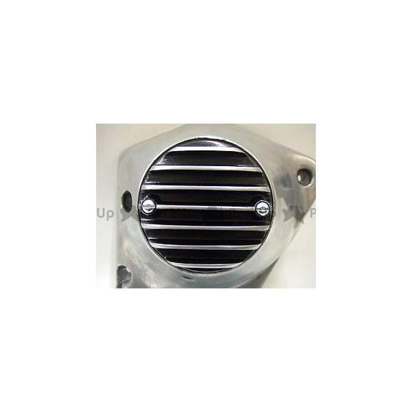 ランキングTOP5 フォーク スポーツスターファミリー汎用 ハーレー汎用 7フィン ポイントカバー 2穴 カラー:ブラック サービス 横穴 FORK