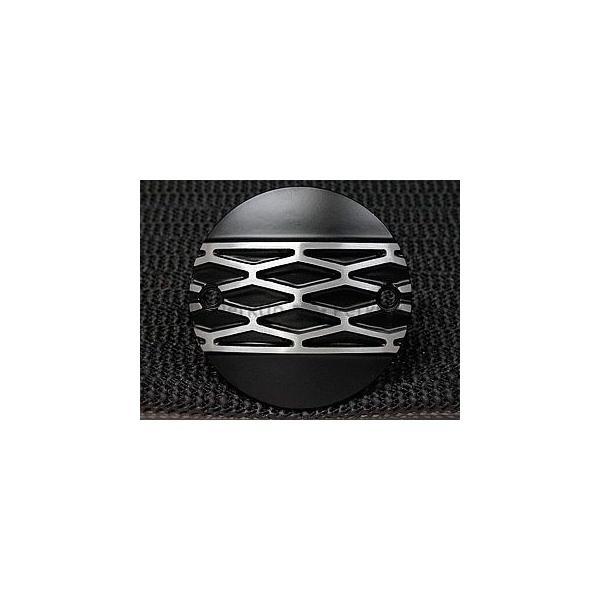 フォーク スポーツスターファミリー汎用 激安セール ハーレー汎用 ダイア 安心と信頼 ポイントカバー 横穴 FORK 2穴 カラー:ブラック