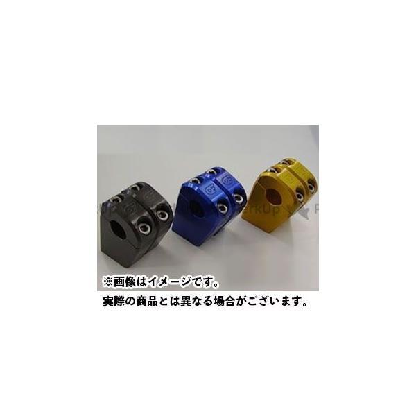 オベロン 汎用 人気 ハンドルバー ライザー 現金特価 カラー:チタニウム OBERON