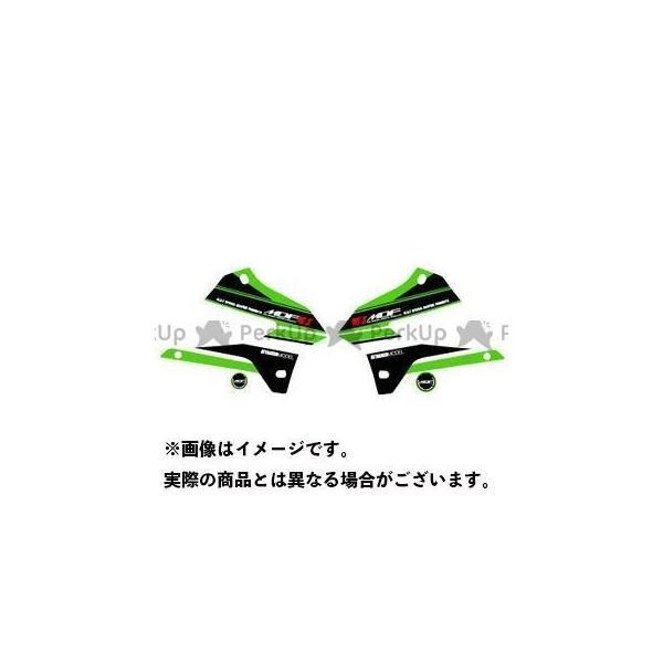 MDF KLX250 08- グラフィックキット 新入荷 流行 アタッカーモデル 5☆好評 グリーンタイプ エムディーエフ タイプ:シュラウドセット