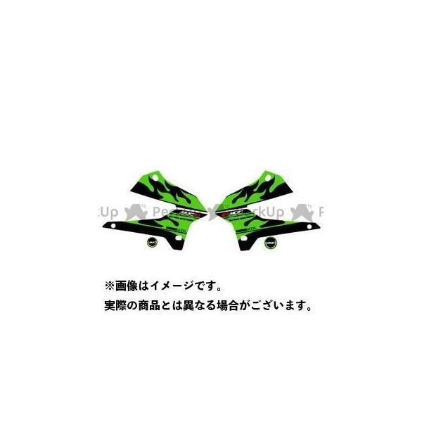 <title>MDF KLX250 08- グラフィックキット ファイアーモデル 期間限定特別価格 グリーンタイプ タイプ:シュラウドセット エムディーエフ</title>