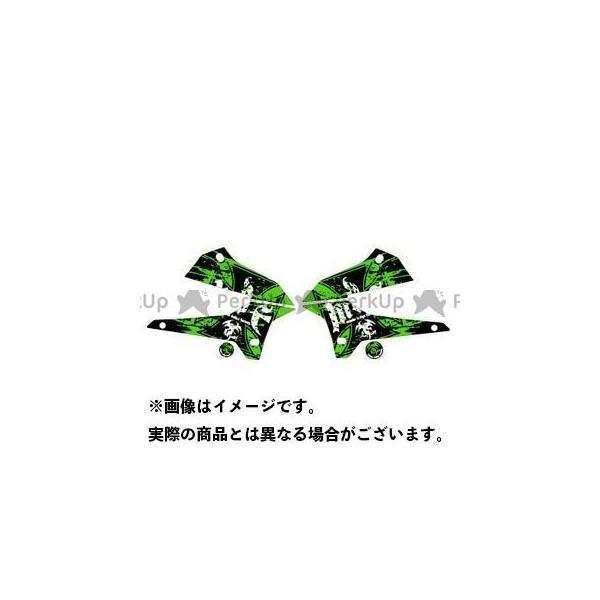 MDF セール特価 KLX250 08- グラフィックキット グリーンタイプ ブラッディーモデル エムディーエフ スーパーセール タイプ:シュラウドセット