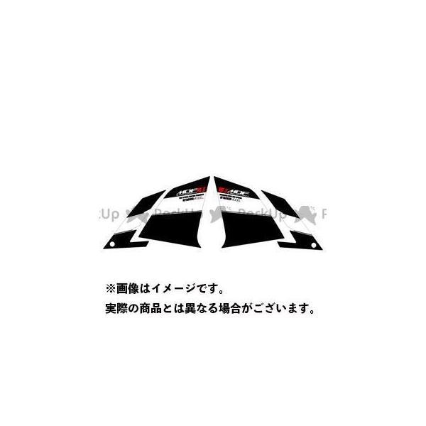 MDF ニンジャ250 Ninja250 13-17 グラフィックキット ブラックタイプ 新色 タイプ:フロントサイドセット エムディ… アタッカーモデル 供え
