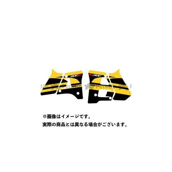 <title>MDF DT200R 88-90 新商品 グラフィックキット アタッカーモデル パンプキンイエロータイプ タイプ:シュラウドセット エムディ…</title>