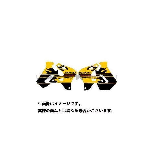 <title>MDF RMX250S 96- グラフィックキット ファイアーモデル パンプキンイエロータイプ タイプ:シュラウドセット エムディ… お洒落</title>