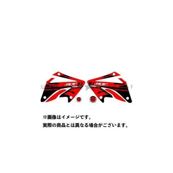 <title>MDF XR250モタード XR250 MOTARD 06- グラフィックキット ファイアーモデル レッドタイプ タイプ:シュラウドセット エムデ… 年中無休</title>