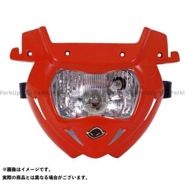 <title>UFO 汎用 パンサーヘッドライト用 ロアヘッドライト カラー:レッド ユーフォー 上等</title>