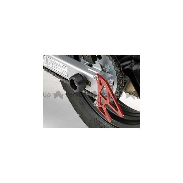アグラス エイプ100 エイプ50 KSR110 リアアクスルプロテクター R 製 いつでも送料無料 カラー:ホワイト ジュラコン AGRAS 価格 交渉 送料無料
