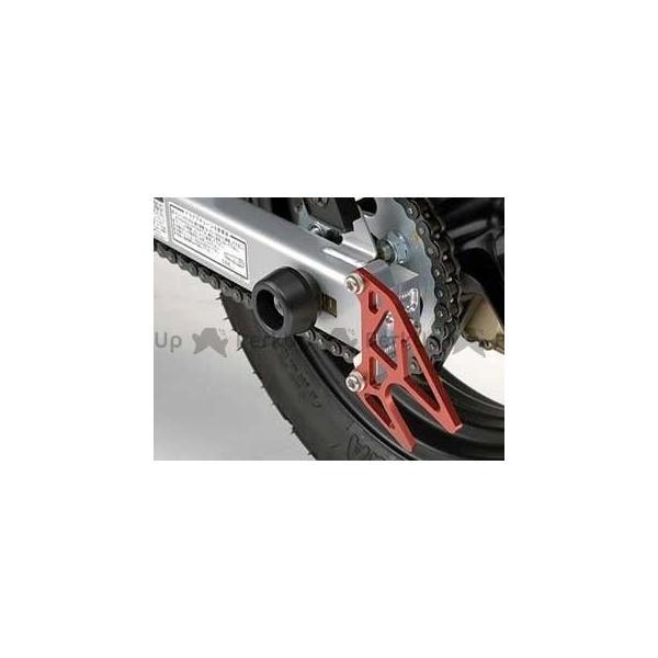 アグラス 安心の定価販売 激安セール エイプ100 エイプ50 KSR110 リアアクスルプロテクター R ジュラコン 製 カラー:ブラック AGRAS