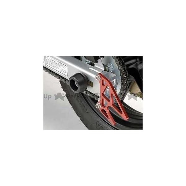 大規模セール アグラス XR100モタード 即日出荷 リアアクスルプロテクター ジュラコン AGRAS 製 R カラー:ホワイト