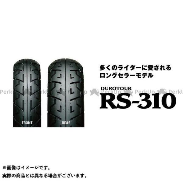 IRC 汎用 DUROTOUR RS-310 120 大特価!! 大人気 80-18 リア 62H アイアールシー M TL C