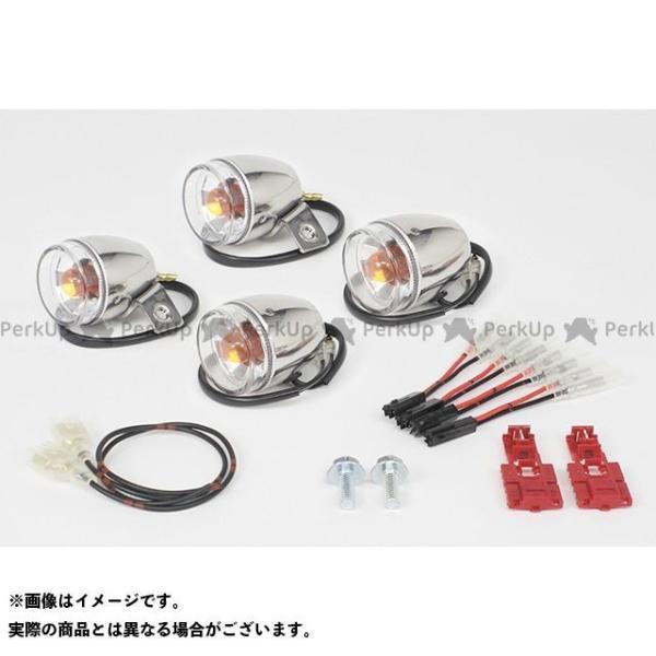 限定モデル SP武川 人気 おすすめ モンキー ミニブレイズウインカーキット TAKEGAWA レンズ:クリアー ステンレスボディ