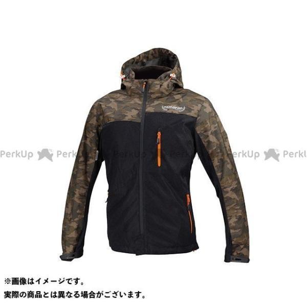売り込み コミネ JK-114 日本未発売 プロテクトメッシュパーカ-テン カラー:カモ KOMINE ブラック サイズ:M