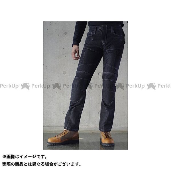 コミネ WJ-739S スーパーフィット ☆新作入荷☆新品 プロテクトメッシュジーンズ 30 サイズ:M カラー:ブラック KOMINE 供え