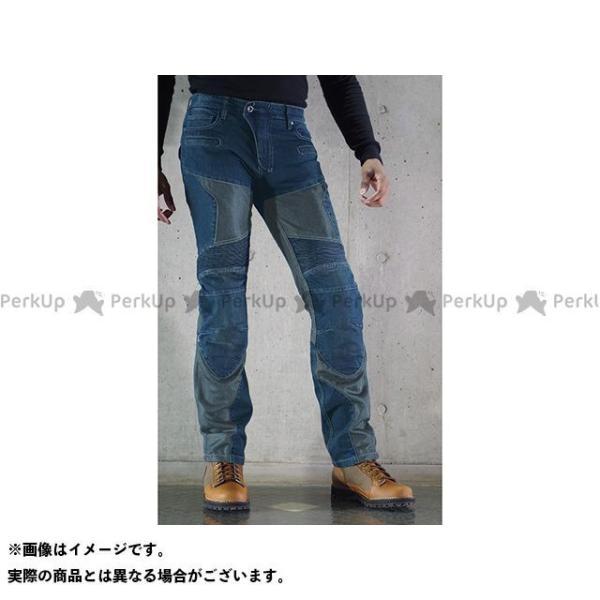 コミネ WJ-739S スーパーフィット プロテクトメッシュジーンズ ファクトリーアウトレット サイズ:XL KOMINE カラー:インディゴブルー 受注生産品 34