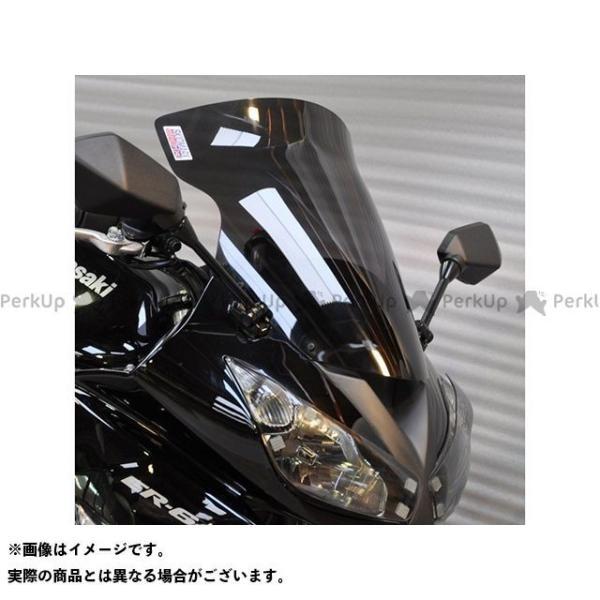 スキッドマークス ER-6f ニンジャ400R ニンジャ650R カラー:ライトブロンズ ツーリングタイプ ウィンドスクリーン Skidmarx ランキングTOP5 高品質