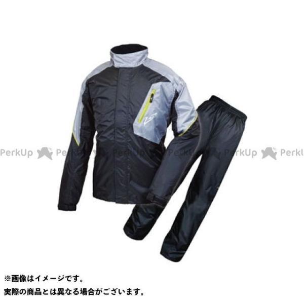 <title>ラフ ロード お見舞い RR7808 デュアルテックスレインスーツ カラー:ブラック サイズ:LL ラフアンドロード</title>