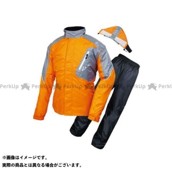 ラフ ロード RR7808 デュアルテックスレインスーツ 日本産 ラフアンドロード サイズ:LL 買い物 カラー:オレンジ