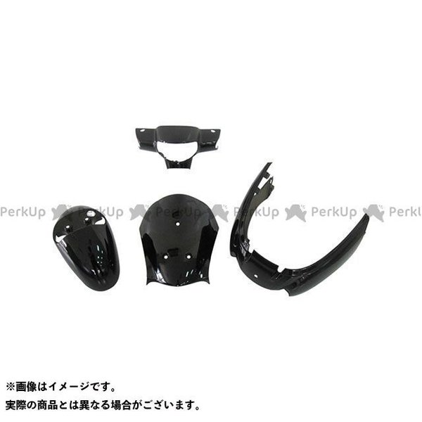 <title>スーパーバリュー レッツ4 CA41A 豪華な CA45A CA46A 外装4点セット カラー:ブラック supervalue</title>