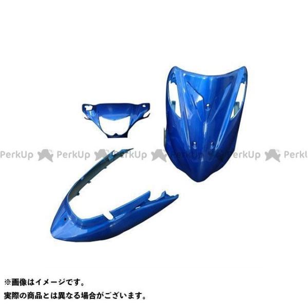 <title>スーパーバリュー アドレスV125 G 評価 外装3点セット カラー:ブルー supervalue</title>