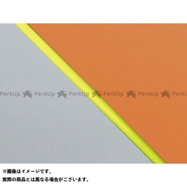 <title>グロンドマン W650 贈物 99年 EJ650A1 C1 国産シートカバー 張替 オレンジ ライン:グレーライン 仕様:黄パイピング Gro…</title>