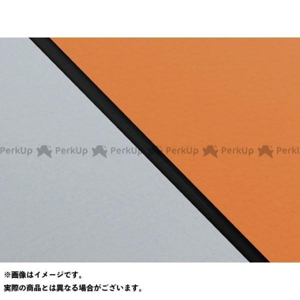 グロンドマン 数量限定 W650 99年 EJ650A1 C1 大放出セール 国産シートカバー ライン:グレーライン オレンジ Gro… 張替 仕様:黒パイピング