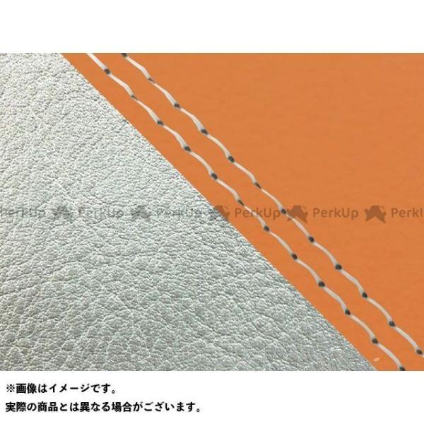 <title>グロンドマン W650 99年 EJ650A1 C1 国産シートカバー 張替 オレンジ 激安通販専門店 ライン:シルバーライン 仕様:透明ダブルステッチ…</title>