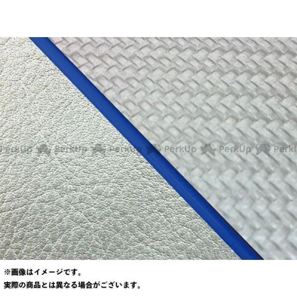グロンドマン 安心の定価販売 W650 99年 EJ650A1 C1 期間限定の激安セール 仕様:青パイピン… ライン:シルバーライン 張替 国産シートカバー カーボンシルバー
