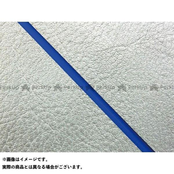 <title>グロンドマン W650 99年 EJ650A1 C1 国産シートカバー 張替 セール特別価格 シルバー ライン:シルバーライン 仕様:青パイピング Gr…</title>