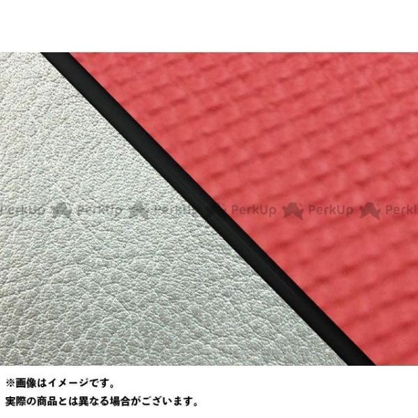 <title>グロンドマン W650 99年 EJ650A1 C1 高級品 国産シートカバー 張替 スベラーヌレッド ライン:シルバーライン 仕様:黒パイピン…</title>