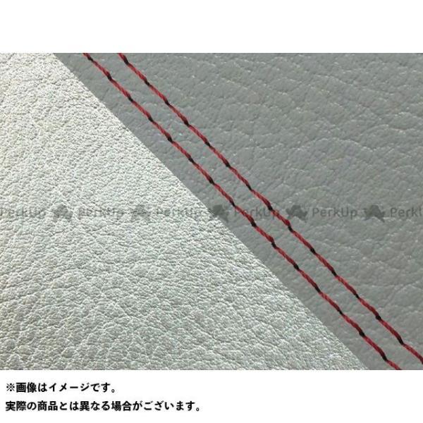 <title>グロンドマン W650 99年 EJ650A1 C1 国産シートカバー 即納 張替 ダークグレー ライン:シルバーライン 仕様:赤ダブルステッ…</title>
