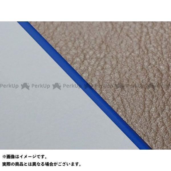<title>グロンドマン W650 99年 EJ650A1 C1 メーカー再生品 国産シートカバー 張替 ダークブラウン ライン:グレーライン 仕様:青パイピング …</title>