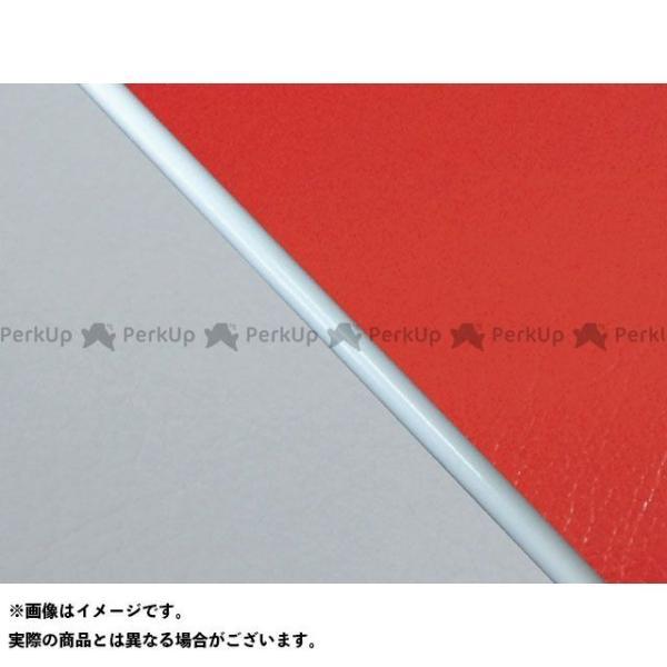 在庫一掃売り切りセール グロンドマン W650 99年 EJ650A1 C1 国産シートカバー 赤 Gronde… 張替 ライン:グレーライン 上等 仕様:白パイピング