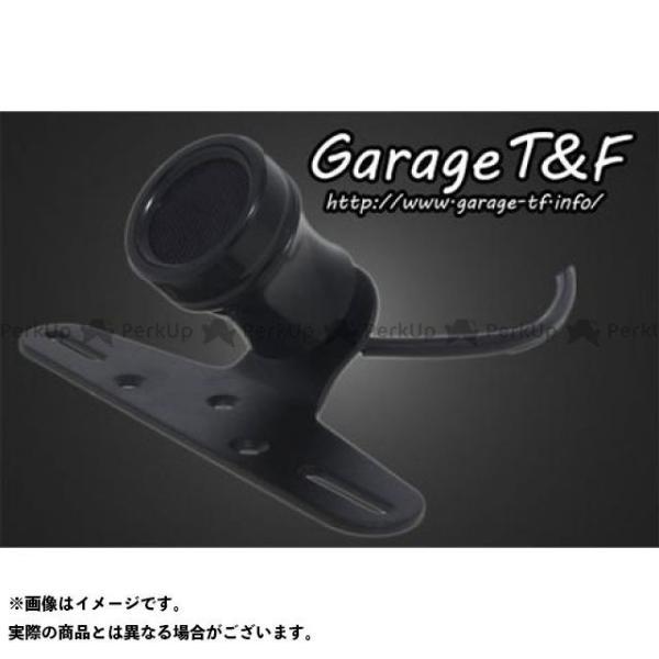 ガレージTamp;F 汎用 ルークテールランプ Face-2 ブラック ガレージティーアンドエフ 感謝価格 代引き不可