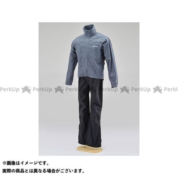 ヘンリービギンズ HR-001 マイクロレインスーツ サイズ:M HenlyBegins 日本 グレー 通販 激安◆