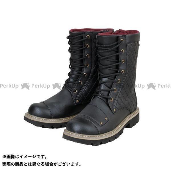 <title>RossoStyleLab ROB-205 防水ライディングステッチブーツ カラー:ブラック 早割クーポン サイズ:24.0cm ロッソスタイルラボ</title>