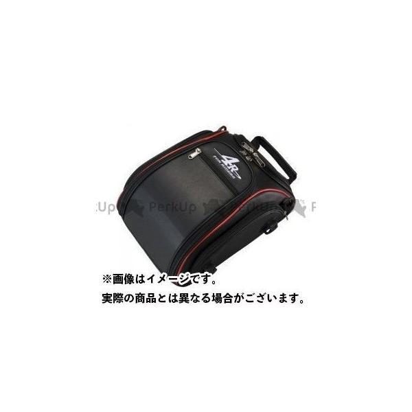 日本産 4R ストリームライン シートバッグ リズム カラー:ブラック レッド 正規認証品!新規格 フォーアール