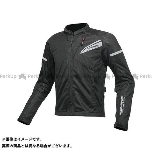コミネ 休日 2019年春夏モデル JK-140 プロテクトフルメッシュジャケット KOMINE サイズ:4XL ソリッドブラック オンライン限定商品