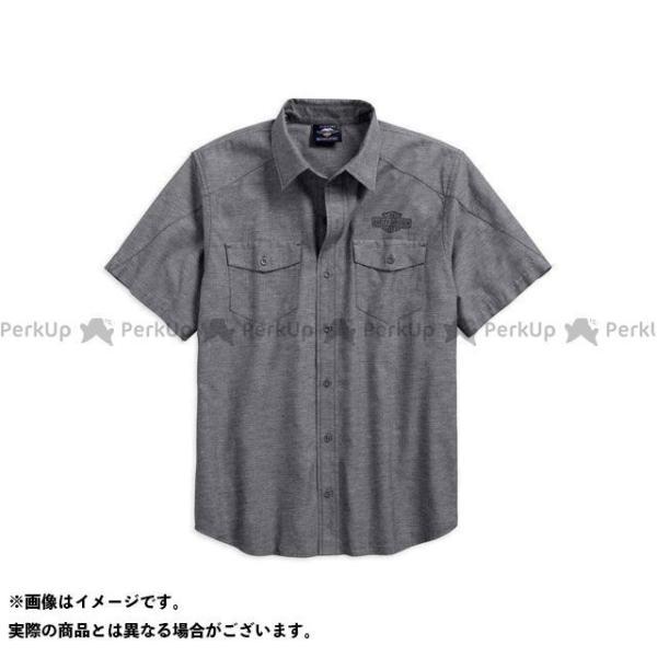 並行輸入品 ハーレーダビッドソン シャツS S VintageLogo TexturedShirt HARLEY-DAVIDSON サイズ:L 2020